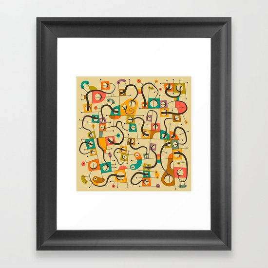 A DIFFERENT WORLD Framed Art Print