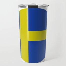 sweden flag Travel Mug