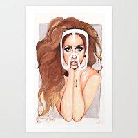 artpop Art Prints featuring ARTPOP by Anett Borges