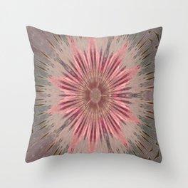 """"""" Pink Dandy Lion """" Throw Pillow"""