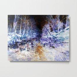 Nightmare Woods Metal Print