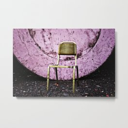 When The Party's Over Metal Print