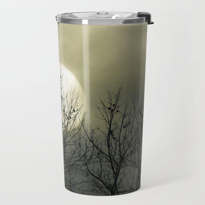 Winter Into Spring Travel Mug