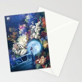 Sailing the Milky Way Stationery Cards