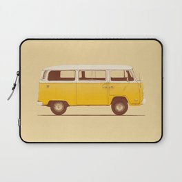 Van - Yellow Laptop Sleeve