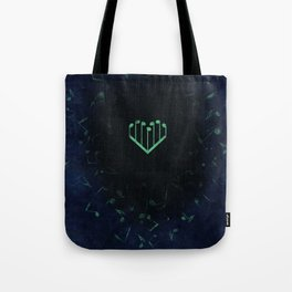 Music Heart old paper Tote Bag