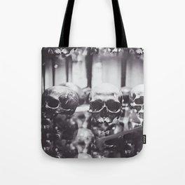 Trio of Skulls Tote Bag