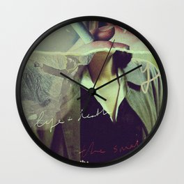 Collage 002 Wall Clock