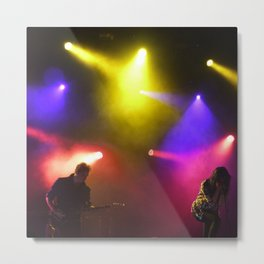 The Kills at terminal 5 New York Metal Print