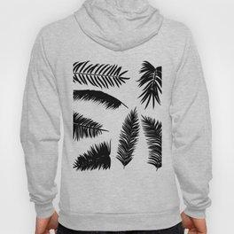 Palm Leaves Silhouette Hoody