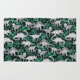 Dinosaur Jungle Rug