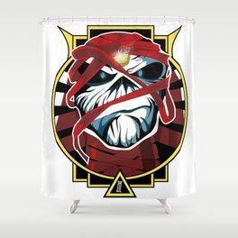 Tribute Iron Maiden Shower Curtain