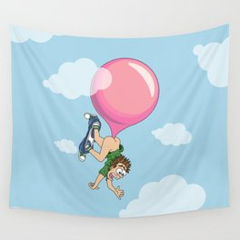 Don't Swallow Your Bubble Gum Wall Tapestry