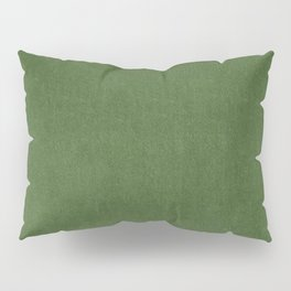 Sage Green Velvet texture Pillow Sham