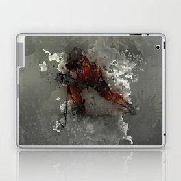 On Ice - Ice Hockey Player Modern Art Laptop & iPad Skin