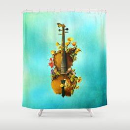 Undying Symphony Shower Curtain