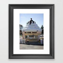 Twistee Treat: Chubby's Framed Art Print