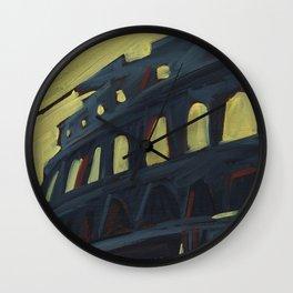 Rome: Coliseum Wall Clock