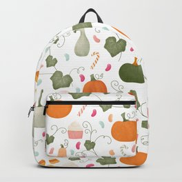 Pumpkin Party | White Background Backpack