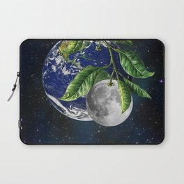 Full moon and Earth Laptop Sleeve