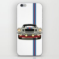 martini iPhone & iPod Skins featuring Martini Mustang by Marius Dumitrascu