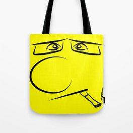 Smoking Pillow Tote Bag