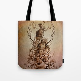 Cute Totem Tote Bag