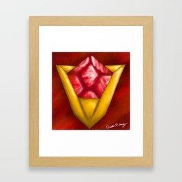 Goron Ruby Framed Art Print