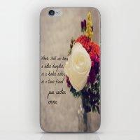 jane austen iPhone & iPod Skins featuring Jane Austen Daughter Emma by KimberosePhotography