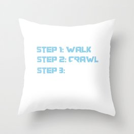 Snowmachine Motor Sledge Winter Season Walk Crawl Snowmobiles Gifts Throw Pillow