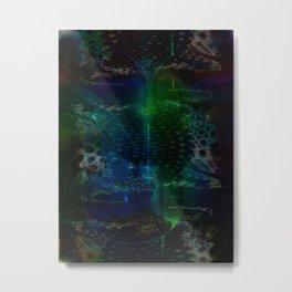 """""""Submerged"""" Metal Print"""