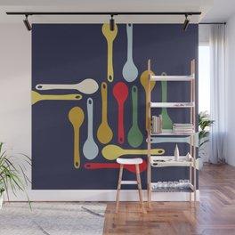 Spoons Wall Mural