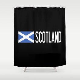 Scotland: Scottish Flag & Scotland Shower Curtain