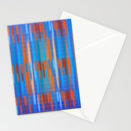 Stripes Soft and Crisp Stationery Cards