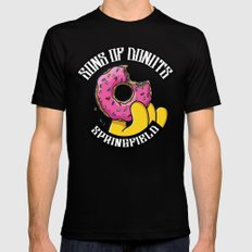 Sons Of Donuts / Simpsons / Donuts Black X-LARGE Mens Fitted Tee