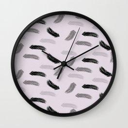 Plumas  Wall Clock