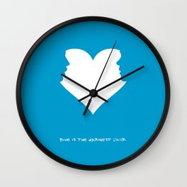 Movie Poster: Blue is the Warmest Color Wall Clock