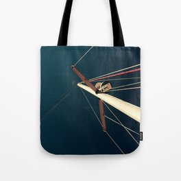 sailboat flare. Tote Bag