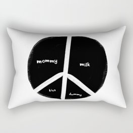 New baby peace flag Rectangular Pillow