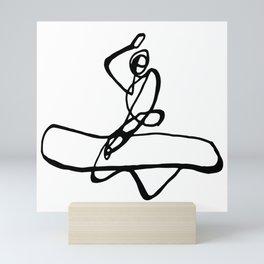 Surf : Snow IX Mini Art Print