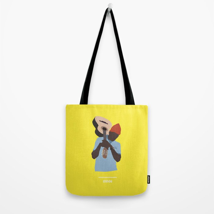 ZISSOU ( The Life Aquatic ) Tote Bag