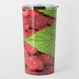 Raspberries Travel Mug