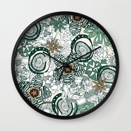 succulents limited Wall Clock