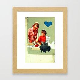 teaching rejection Framed Art Print