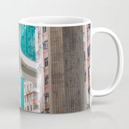 Hong Kong Street Bridge Coffee Mug