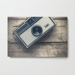 Vintage Camera 3 Metal Print