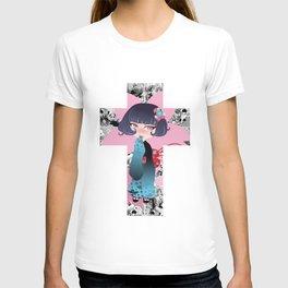 Hina pink T-shirt