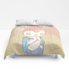 PAULPOLEON BONAPARTE PIERROT VIII Comforters