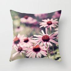 Sweet Daisies Throw Pillow