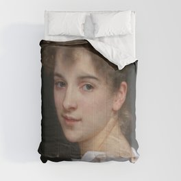 William-Adolphe Bouguereau - Gabrielle Cot Comforters